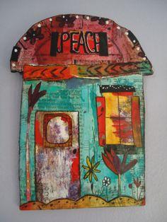 House of Peace by Jogatheringwild on Etsy, $45.00