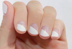 Modern French Nail Wraps. sogloss.com