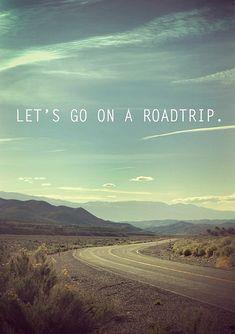 Road trip...