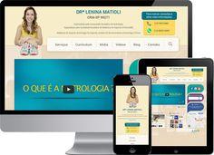 Site em WordPress da médica Lenina, especialista pela Associação Brasileira de Nutrologia e especialista pela Sociedade Brasileira de Medicina do esporte.  #WordPress #SiteWordPress #ProgramadorWordPress #DesenvolvedorWordPress  http://edersilva.com/portfolio/site-em-wordpress/dr-lenina/