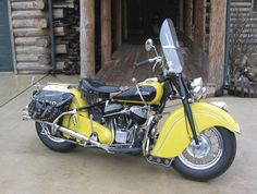 Ol' Yeller-'48 Indian Chief M/C (Restored by Pete Bollenbach)