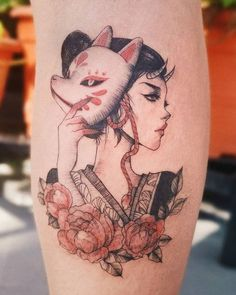 Japanese Tattoo Cherry Blossom, Small Japanese Tattoo, Japanese Tattoo Women, Japanese Tattoo Symbols, Japanese Tattoo Designs, Japanese Sleeve Tattoos, Anime Tattoos, Disney Tattoos, Tribal Tattoos
