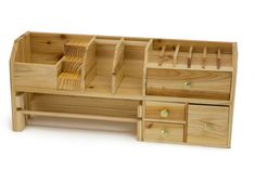Wood Bench Top Storage Organizer for Jewelry Making -- Check out the image by visiting the link. (This is an affiliate link)