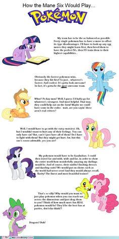 Ponies and Pokemon?