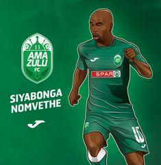AmaZulu FC_Poster Collection_Siyabonga Nomvethe