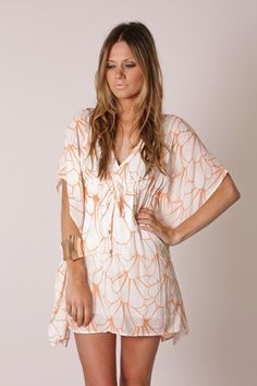 perfect for the summer and to wear over a bathing suit