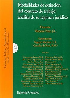 Modalidades de extinción del contrato de trabajo : análisis de su régimen jurídico / Monereo Pérez, J.L. (dir.) ; Triguero Martínez, L.Á, González de Patto, R.Mª (coords.) ; Caballero Pérez, M.ª J. ... [et al]