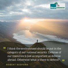 Defending our air, water, communities, and wild places require more than a single voice. May these words by acclaimed actor, director and environmentalist Robert Redford inspire you to raise your voice, take action and join a movement to defend the planet's natural resources.  #MotivationMonday #Conservation #Dilmah #NoCompromise #DilmahConservation #DiversityofLife #LoversofLife #motivationalquotes #Mondaymotivation Shared Reading, Make Business, Robert Redford, Environmentalist, Educational Programs, Human Services, Natural Resources, Social Justice, Conservation