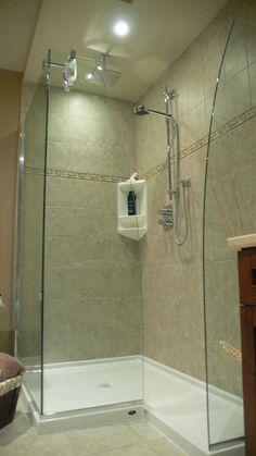 #Bathroom #Walk #In #Shower #Without #Door #WalkInShowerWithoutDoor