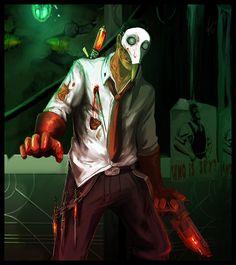 Splicer the Medic by: Snook-8 on deviantART