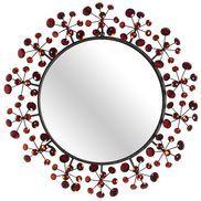Red Dazzle Mirror