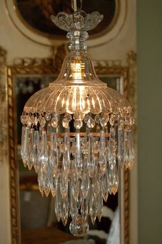 Antique Late Victorian Crystal Waterfall Chandelierpinned from images search yahoo Antique Chandelier, Antique Lamps, Antique Lighting, Chandelier Lighting, Crystal Chandeliers, Antique Furniture, Victorian Lamps, Victorian Era, Interior Exterior