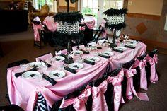 Barbie Glam Table Settings
