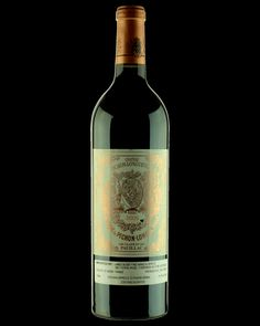 Château Pichon-Longueville Baron Pauillac 2005 Wine Labels, Bottle Labels, Wine Types, Cigars And Whiskey, French Wine, In Vino Veritas, Label Design, Barbados, Wine Recipes