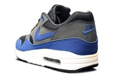 new products a4c73 b6f85 Nike Air Max 1 Grey Blue Holiday 2012