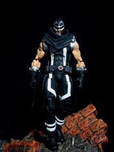 Magneto (Marvel Legends) Custom Action Figure by Leech2 Base figure: WWE