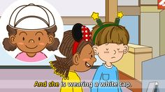 What does she look like? She has short curly hair. (Easy Dialogue) - Eng...