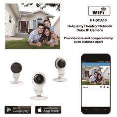 (49.90$)  Buy here  - Plug and play 720P cctv IP Camera Wireless Network ip Cameras support Night Vision 2-Way Audio mini indoor cube wifi IP Cam