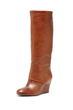 Steve Madden - Mauraa studded wedge boot (The back is screams sexy, too)