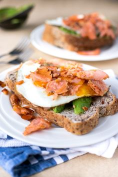 Crispy Smoked Salmon and Poached Egg Stack - Cafe Delites-5