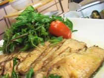 Bife marinado