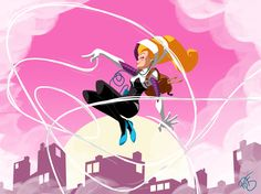 Last fall, Edge of Spider-Verse #2 by writer Jason Latour and artist Robbie Rodriguez, introduced a universe where Gwen Stacy became Spider-Man. Er, Spider-Woman. Make that Spider-Gwen. The comic book was energetic, weighty, and inventive, and fans lost it. The reaction to Spider-Gwen was so positive that Marvel announced an ongoing series for the hero. Spider-Gwen #1 hit stores two days ago (read Eric's review), and it didn't disappoint. I enjoyed the story but would also like to tak...