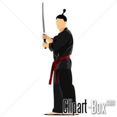CLIPART SAMURAI WARRIOR