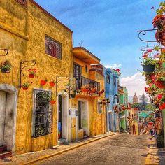 Atlixco De Las Flores, Puebla, Mexico #Vacation #Mexico #Ferias #vacaciones