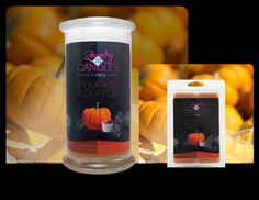 "PUMPKIN SOUFFLE - A true to smell fragrance bursting with fresh pumpkin. This scent is great to get you ""in the mood for fall!"" Mouthwatering notes of butter, sugar, and spices complete this irresistible bakery scent.  CANDLE  https://www.jewelryincandles.com/store/glowtoglitter/p/79:c:97/enticing-desserts/pumpkin-souffle-candle/  TARTS  https://www.jewelryincandles.com/store/glowtoglitter/p/95:c:97/enticing-desserts/pumpkin-souffle-tarts/"