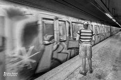 The metro  #gabyawadphotography #streetphotography