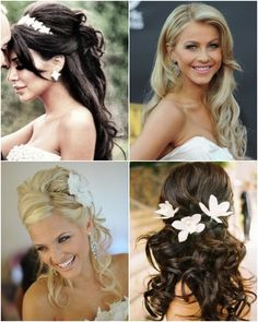 Wedding Hair Style top right on Julianne hough