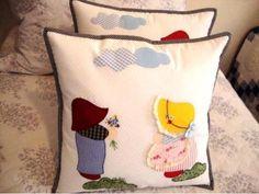 Decoração em patchwork para almofadas e travesseiros 014