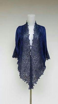 Indigo Kebaya Lace, Kebaya Hijab, Kebaya Brokat, Batik Kebaya, Kebaya Dress, Blouse Batik, Batik Dress, Dress Batik Kombinasi, Model Kebaya Modern