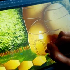 Still #workinprogress  ____ Prace jeszcze trwają... ____ #wip #environment #environmentconcept #conceptartist #conceptart #gameart #portfolio #hive #illustration #madewithwacom #drawing #drawingprocess