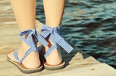 Sseko Sandals! These would be so cute to wear on the 4th of July :)