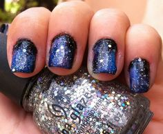 Galaxy Nails With Tutorial! www.preen.me/look/557009
