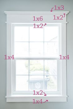 DIY Farmhouse Trim - easy way to add character! - InGioia house window trim DIY Farmhouse Trim - easy way to add character! Farmhouse Interior Doors, Farm House Living Room, Interior Windows, Farmhouse Diy, Farmhouse Interior, House Trim, Farmhouse Trim, Diy Window Trim, Diy Window