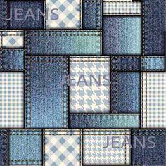 26 Vetores Jeans Estampas Sublimação + 6 Textura Jeans - R$ 8,00 em Mercado…