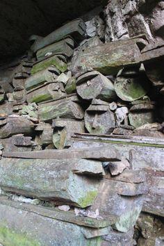 Coffins at Lumiang Cave Sagada Mountain Province
