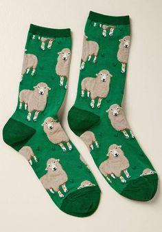 ModCloth A Wool's Errand Socks - Size OS #ad