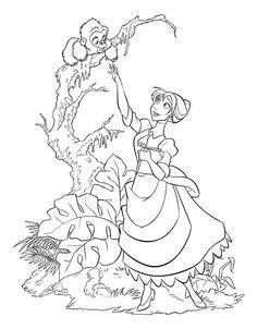 Dibujos para Colorear Disney 94
