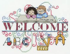 Welcome September - Cross Stitch Pattern