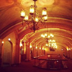 Olympia Theater in Downtown Miami, 1920's gem, saved from being shut down a year ago by a non-profit.