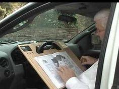 biurko na lapcia do auta