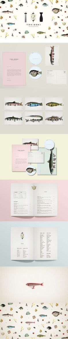 Branding, Art Direction & Graphic Design _Japanese Restaurant: