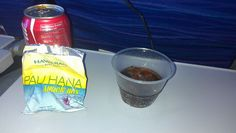 Special airplane snack!