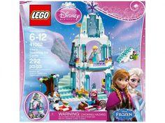 LEGO Disney Princess O Castelo de Gelo da Elsa - 41062 292 Peças com as melhores condições você encontra no Magazine Raimundogarcia. Confira!