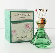happ & stahns rose alba perfume packaging.  [ an anthropology brand ]