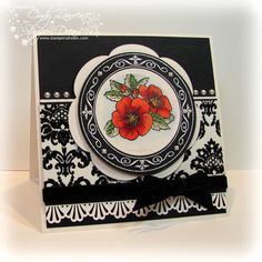 JustRite Stampers Plant a Little Love set - Stunning!!  By Cindy Lawrence
