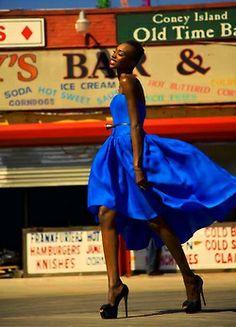 Royal blue beauty #royal #blue #beauty